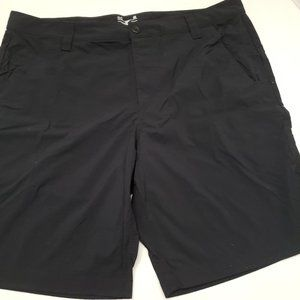 Hurley Loose Mens Flat Blue Shorts HeatGear 40